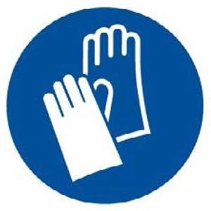 Evite estar en contacto con material quemado, use guantes para proteger la piel de sus manos.