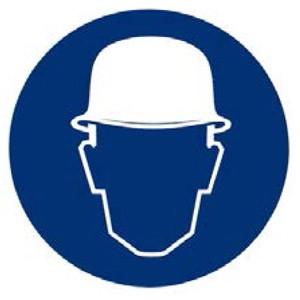Use casco de seguridad, para evitar daños por desprendimientos.