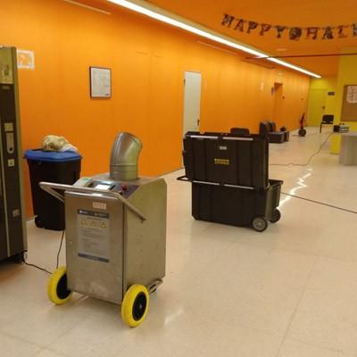 Desinfección de colegios y centros educativos