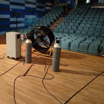 Desinfección de cines, teatros, salas de congresos y centros de ocio