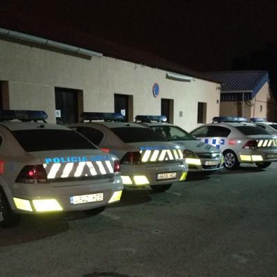 Desinfección de dependencias y vehículos policiales