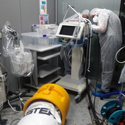 Desinfección de equipos e instrumental hospitalario